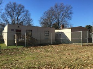 Portable Trailer Classrooms at Hillsmere Elementary